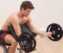 Изолированное упражнения для бицепса