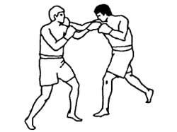 Опасность защитного блока одноименной рукой