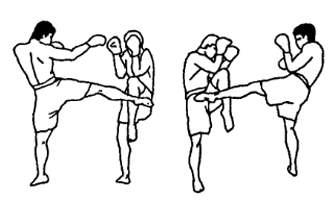 Блоки в тайском боксе