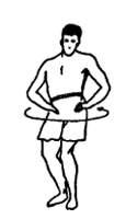Упражнения для боксера: вращение таза