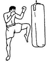 Техника выполнения ударов коленями