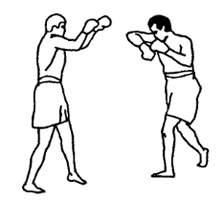 Удары локтями в тайском боксе