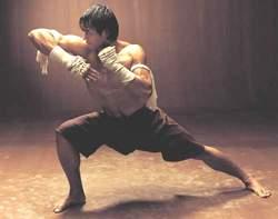 Бой с тенью (тайский бокс)
