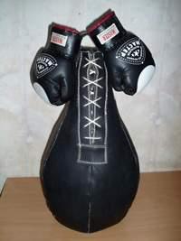 Работа с боксерской грушей