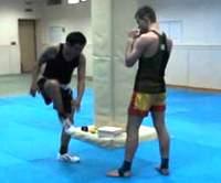 Набивка тела в тайском боксе