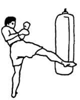 Техника выполнения ударов ногами