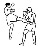 Ударная техника тайского бокса