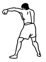 Техника нанесения прямого удара рукой