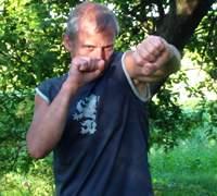 Боковой удар рукой