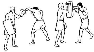 Связки с апперкотами в тайском боксе