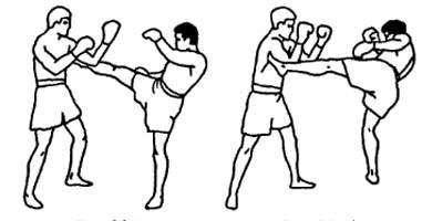 Парирование ударов в тайском боксе