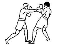 Прямой удар в голову: тайский бокс