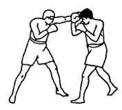 Боковой удар в голову: тайский бокс