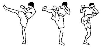 Разминка в тайском боксе
