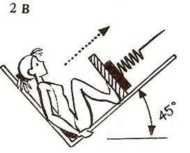 Жим ногами с наклонным направлением движения