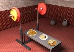 Питание в период тренировки на массу