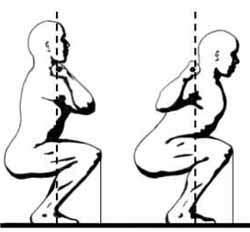 Упражнение для мышц ног