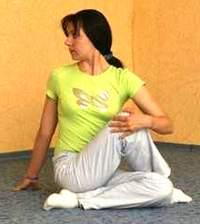 Бодифлекс: упражнение кренделек