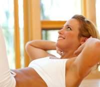 Бодифлекс: упражнение для брюшной пресс