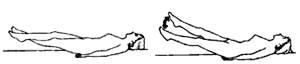 Бодифлекс: упражнение ножницы