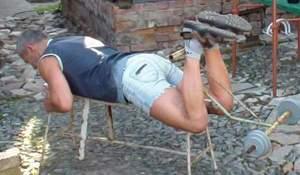 Упражнение на бицепс бедра