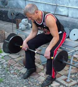 Упражнение для мышц разгибателей кисти
