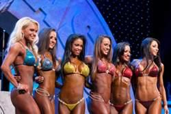 Похудение в бодибилдинге для женщин