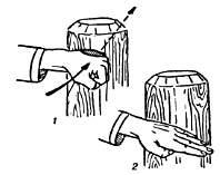Набивка ударных поверхностей рук