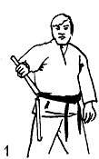 Смена захватов одной рукой (вращение): уроки нунчаку