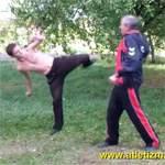 Техника ударов ногами: видео урок