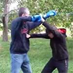 Как научиться драться: видео урок