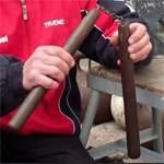 Как сделать боевые нунчаку своими руками