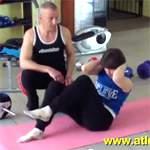 Упражнения для плоского живота: видео урок