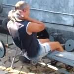 Римский стул: упражнения для пресса