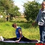 Как сесть на шпагат: упражнения. Видео урок