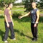Правильная стойка: видео урок
