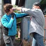 Боковой удар рукой: техника. Видео урок
