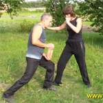 Удар коленом: видео урок
